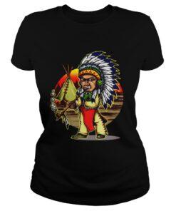Ladies Tee Native American Chieftain shirt