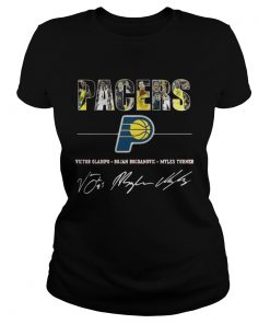 Ladies Tee Pacers Basketball For Fan Shirt