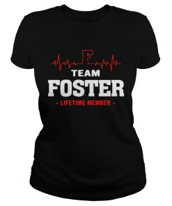 Ladies Tee Team Foster lifetime shirt