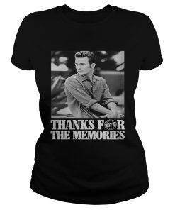 Ladies Tee Thanks For 90210 The Memories shirt