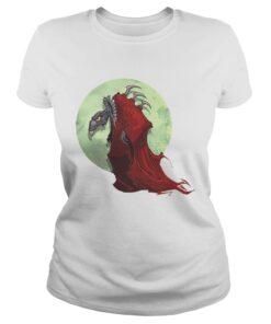 Ladies Tee The Dark Crystal SkekTek Red Moon shirt