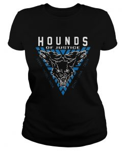 Ladies Tee The Shield Hounds of Justice Authentic shirt