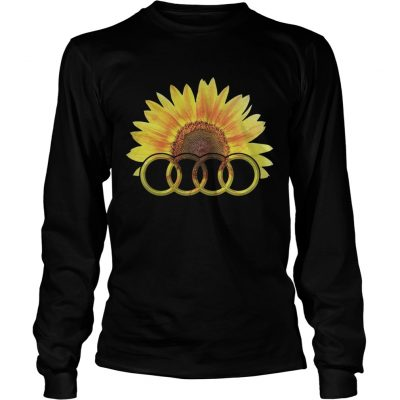Longsleeve Tee Audi Sunflower shirt