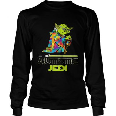 Longsleeve Tee Autism Yoda Seagulls kid shirt