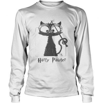 Longsleeve Tee Cat Harry Pawter shirt