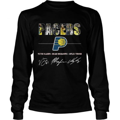 Longsleeve Tee Pacers Basketball For Fan Shirt