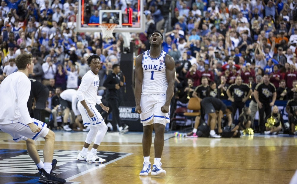MOUNT ZION Williamson, Barrett help Duke men's basketball escape Central Florida in final seconds