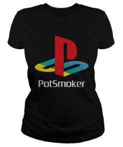 Official Pot smoker ladies tee