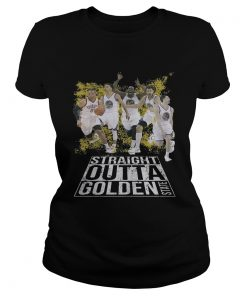 Straight Outta Golden State Warriors Fans Ladies Tee