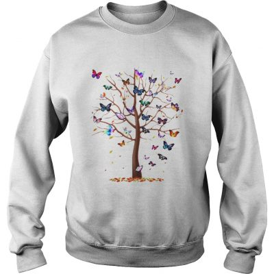 Sweatshirt Family Butterfly tree for lost people shirt