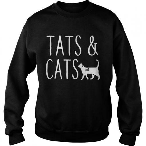 Sweatshirt Tats and cats shirt