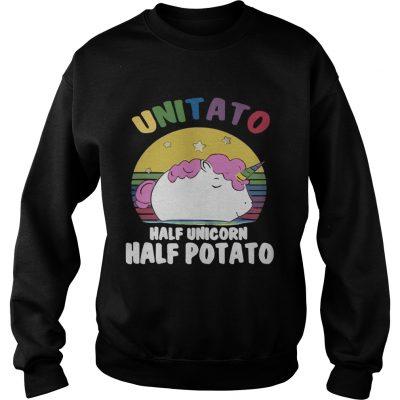 Sweatshirt Unitato half unicorn half potato shirt
