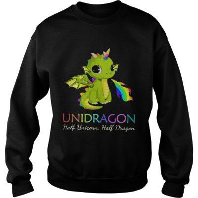 Unidragon half unicorn half unicorn LGBT sweatshirt