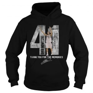 41 Dirk Nowitzki thank you for the memories hoodie