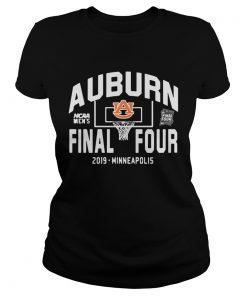 Auburn Tigers Final Four 2019 Minneapolis ladies tee