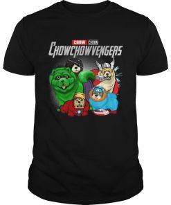 Chow chowchowvengers Marvel Avenger Endgame shirt