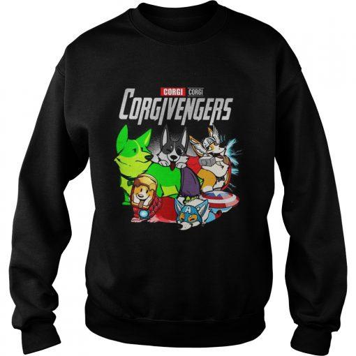 Corgi Corgivengers Sweatshirt