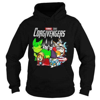 Corgi Corgivengers hoodie