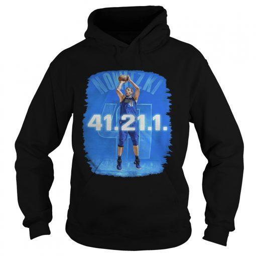Dallas Mavericks Dirk Nowitzki 41 21 1 hoodie