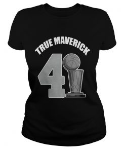 Dallas Mavericks Dirk True Maverick 41211 ladies tee