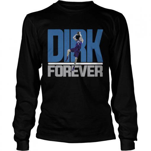 Dirk Nowitzki Forever longsleeve tee