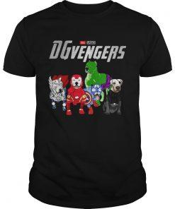 Dogo Argentino DGvengers Avengers endgame shirt