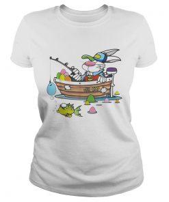 Easter Shirt For Boys Men Dad Fishing ladies tee