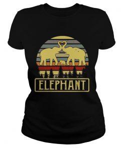 Elephant ladies tee
