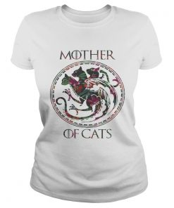 Floral Tropical Mother Of Cats Game of Thrones ladies tee