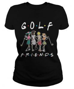 Golf friends girl ladies tee