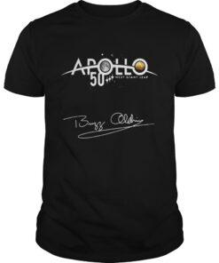 Guys Apollo 50 next giant leap shirt