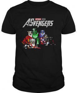 Guys Australian Shepherd Asvengers Marvel Avengers shirt