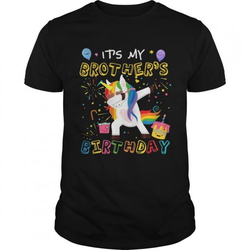 Guys Awesome It's My Brother's Birthday Funny Kid T-Shirt