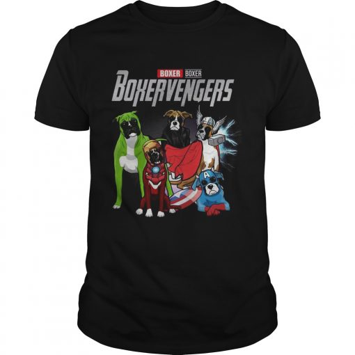 Guys Boxer Boxervengers Marvel Avengers shirt