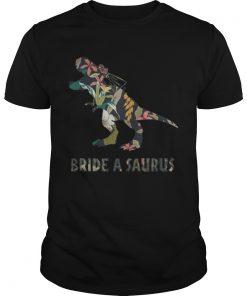 Guys Bride A Saurus Rex Shirt
