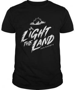 Guys Cleveland Cavaliers 2019 Light The Land Playoffs shirt