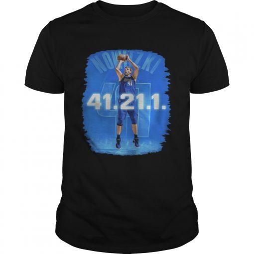Guys Dallas Mavericks Dirk Nowitzki 41 21 1 shirt