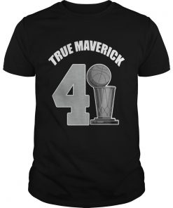 Guys Dallas Mavericks Dirk True Maverick 41211 shirt