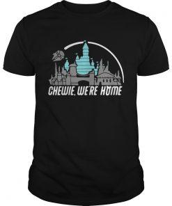 Guys Disney Star Wars Chewie were home shirt