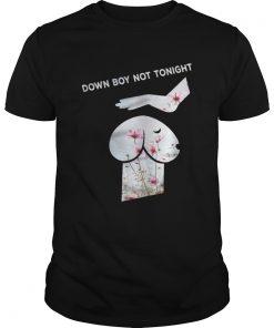 Guys Down Boy Not Tonight Flower Dickhead Dog Noma Bar youth shirt