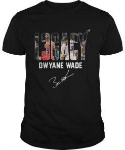 Guys Dwyane Wade Legacy shirt