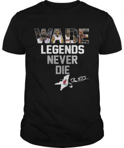 Guys Dwyane Wade Legends Never Die shirt