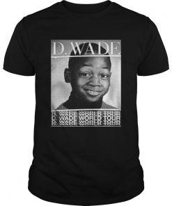 Guys Dwyane Wade World Tour shirt
