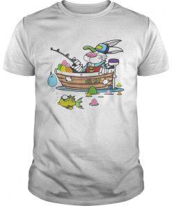 Guys Easter Shirt For Boys Men Dad Fishing shirt