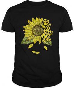 Guys Face Jack Skellington you are my sunshine Sunflower shirt