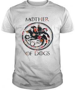 Guys Flower Mother of dogs game of Throne shirt
