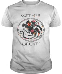 Guys Flower mother of cats game of Thrones shirt