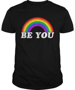 Guys Gay Pride Be you shirt