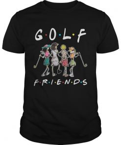 Guys Golf friends girl shirt