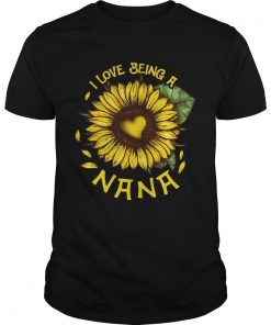 Guys I Love Being A Nana Tshirt